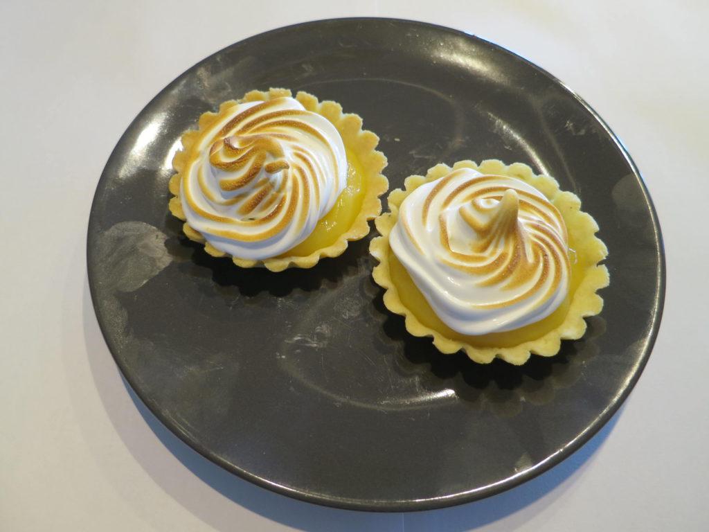 Een citroen-meringuetaartje Image