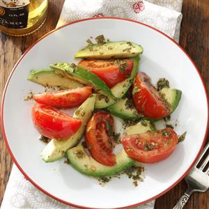 Tomaten-avocadosalade Image